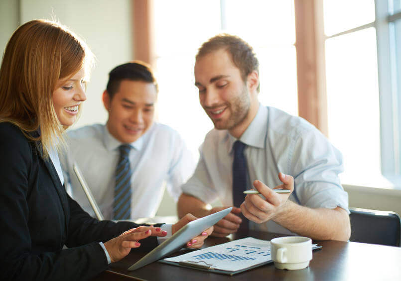 business-people-looking-at-finance-reports