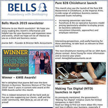 Read our March 2019 Newsletter - Bells Accountants