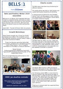 Read our Winter 2019-2020 Newsletter